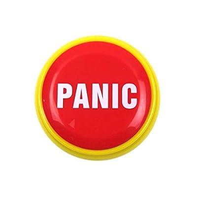 TG,LLC Treasure Gurus Funny Panic Button Practical Joke Alarm Office Desk Prank Novelty Gag Gift: Toys & Games