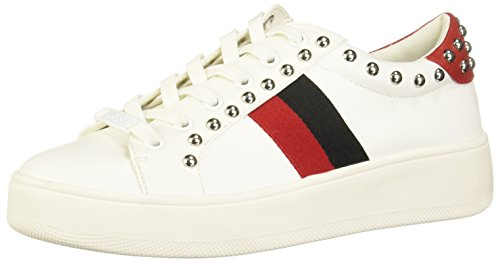Multi Bianco Steve White Sneaker Belle Madden I8X8Zz