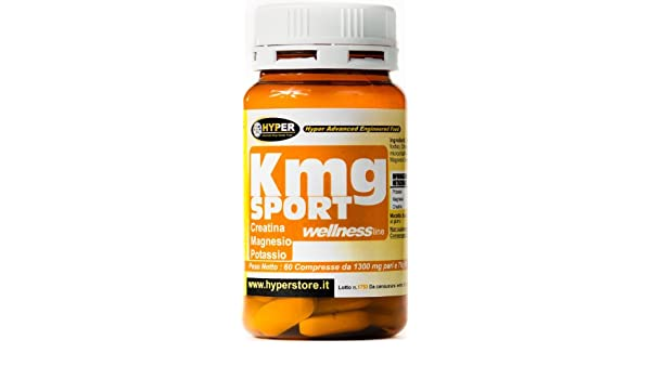 Creatina Magnesio Potasio mayores de energía menos fatiga 60 CPR ¿Cansado? Usted está sujeto a sufrir calambres ? Suda mucho ? ¿Está a menudo irritable?
