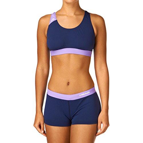 Head SWS Splice Bikini Plus PBT - Bañador para mujer Azul / Lima (NVLI)