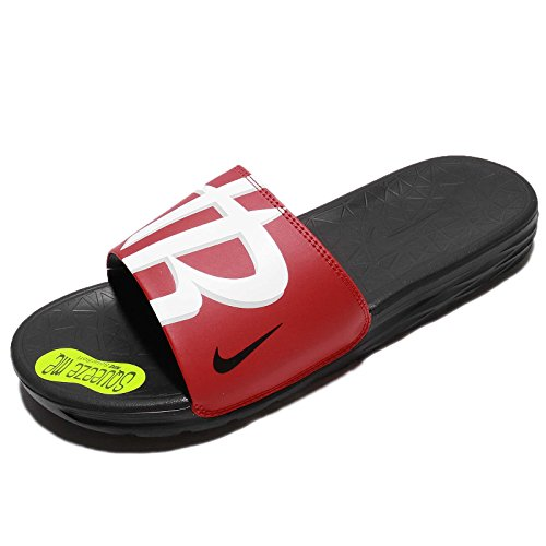 NBA RED Black Black NIKE Men's Benassi Solarsoft Red OZRRgx