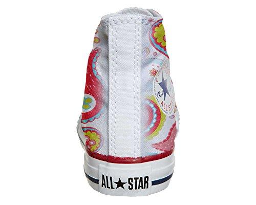 Scarpe Converse All Star personalizzate (scarpe artigianali) Power Paisley