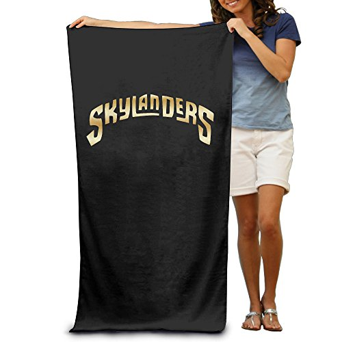 "Skylanders Gold Logo 31.5""51"" Beach Towel"