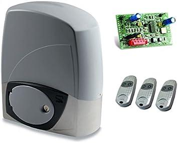 CAME BX-243 - Motor de puerta corredera + 3 mandos a distancia TOP432-EE, para puertas correderas con un peso de hasta 300 kg: Amazon.es: Bricolaje y herramientas