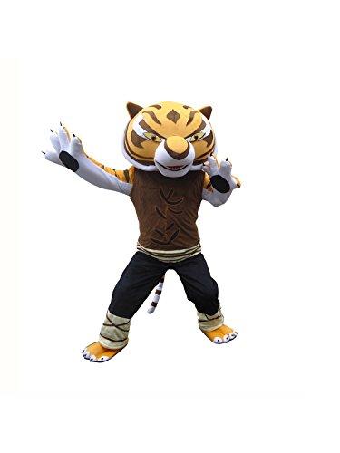 (Sinoocean Tigress Tiger Of Kung Fu Panda Adult Mascot Costume Cosplay Fancy Dress)