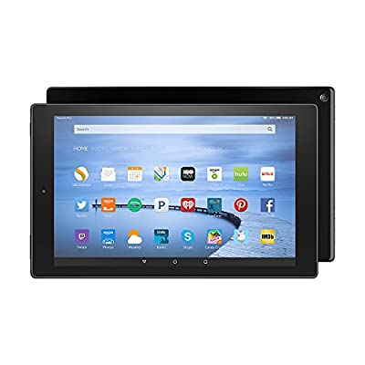 "Certified Refurbished Fire HD 10 Tablet, 10.1"" HD Display, Wi-Fi, 32 GB - Includes Special Offers, Black (Previous Generation - 5th)"