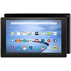 """Certified Refurbished Fire HD 10 Tablet, 10.1"""" HD Display, Wi-Fi, 32 GB - Includes Special Offers, Black (Previous Generation - 5th)"""