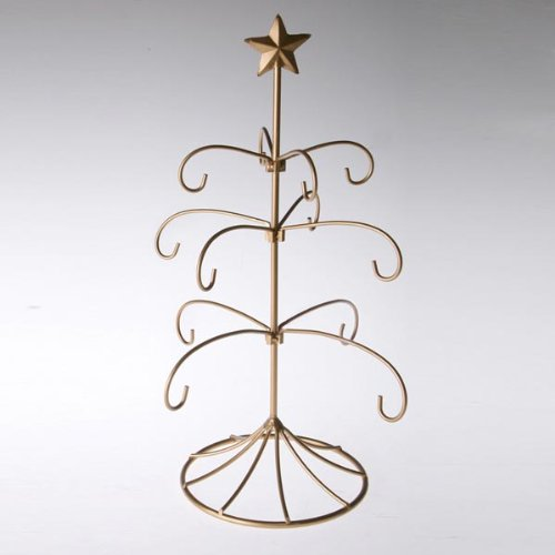 Exclusive Metal Bride's Tradition Ornament Display Tree