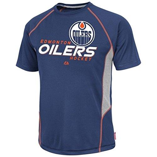 品質一番の Edmonton Edmonton OilersブルーOvertime Victoryクールベース合成Tシャツ Large Large B00N3GQ0D4 B00N3GQ0D4, ユニークジーンストア:04a0d04c --- a0267596.xsph.ru