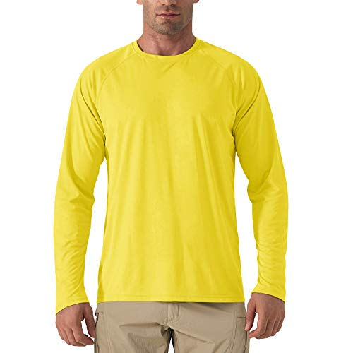 KeefitEVD Heren shirt UV-bescherming UPF 50+ lange mouwen functioneel shirt sneldrogend comfort zomer outdoor shirt…