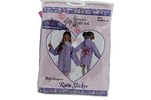 Princess Aurora Girls Rain Slicker