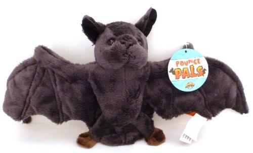 Pounce Pal Black Bat Plush Stuffed Animal