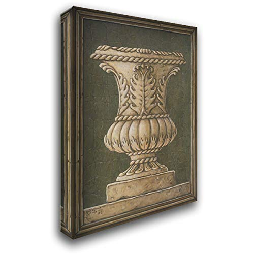 Neo Classical Urn 28x36 Gallery Wrapped Stretched Canvas Art by Kruskamp, Janet