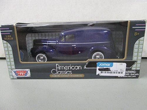 Motor Max 1940 Ford Sedan Delivery Purple 1:24 Scale