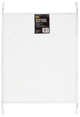 M-D Building Products 33308 M-D Indoor Door Grill, 32 In H X 19 In W, Aluminum quot quot, White