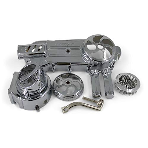 SMM 15-100- Chinese Scooter Chrome Package Long Case 150cc GY6 Engine 7 Piece Set by smm