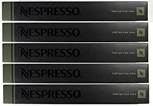 Nespresso OriginalLine: Indriya, 50 Count - ''NOT compatible with Vertuoline''