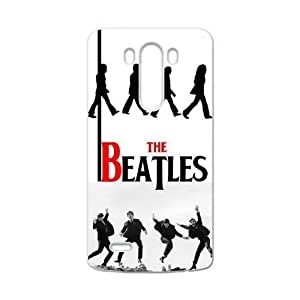Hoomin Simple Black White The Beatles LG G3 Cell Phone Cases Cover Popular Gifts(Laster Technology)