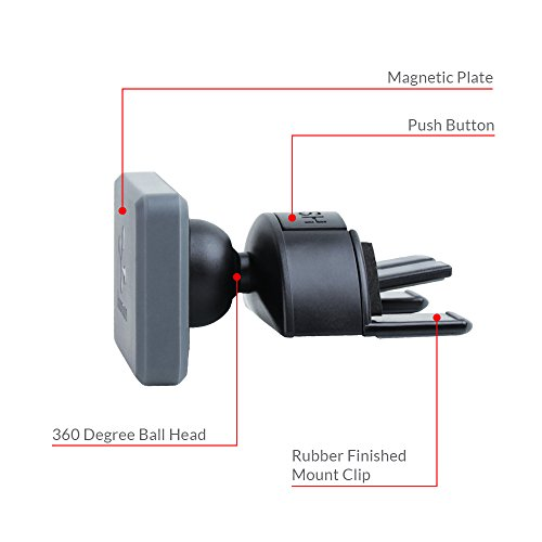 Koomus Pro CD-M Universal CD Slot Magnetic Cradle-less Smartphone Car Mount Holder for all iPhone and Android Devices by Koomus (Image #9)