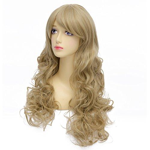 ICOSER Kotobuki Tsumugi Long Full Anime Cosplay Costume Curly Wig Hair