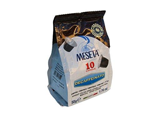 Nespresso 40 Meseta Decaffeinated Capsule Compatible with Nespresso Machine