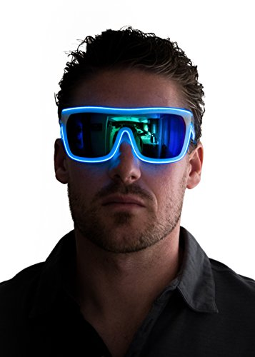 Rock these glowing tron shades at a club, bar, party, concert or rave.Want to stand out from the crowd?It's the perfect ice breaker for singles. Regardless of where you are you'll be getting tons of attention from others who are curious about...