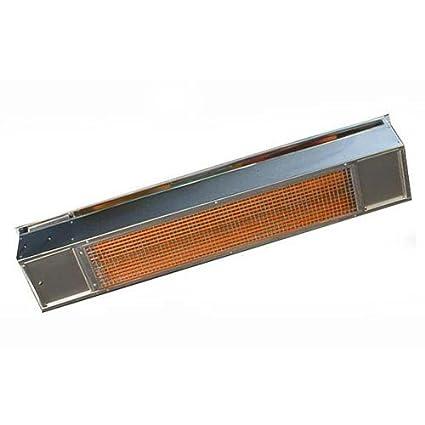 Bon Sunpak Stainless Steel 25,000 BTU Infrared Patio Heater   Natural Gas