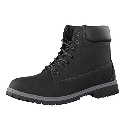 Fila Negro Hombres Mid Calzado Base Maverick Boots gqT8Rg