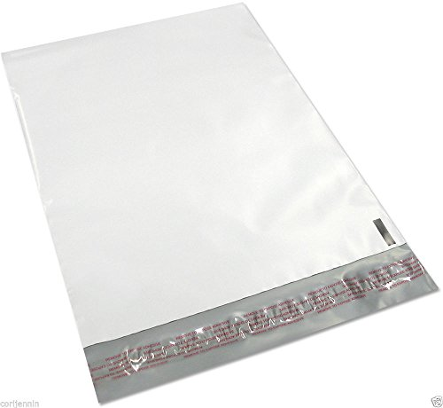 (100 - 19x24 Lightweight Self Sealing Tear & Puncture Resistant Poly Mailers Envelope Shipping Bags)