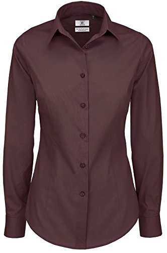 B&C Collection - Camisas - para mujer Luxurious Red