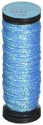 Thread Tapestry (Kreinik No.12 Metallic Tapestry Braid, 11-Yard, Blue Grass)