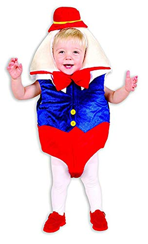 Charades Humpty Dumpty Baby/Toddler Costume, -