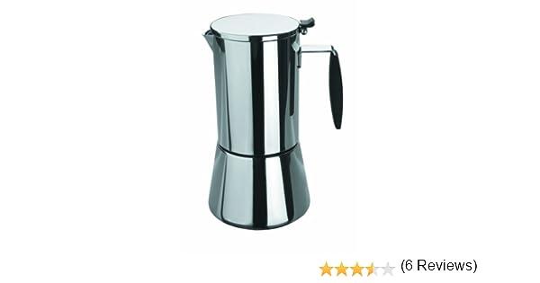 Lacor 62066 - Cafetera express keita 6 tazas inox18/10: Amazon.es: Hogar