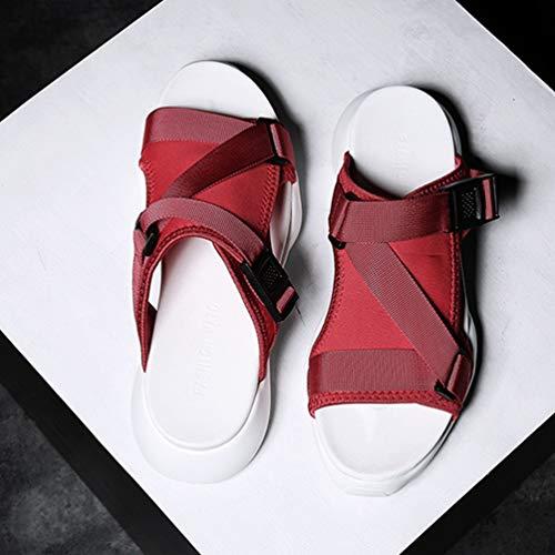 Sandali LFEU LFEU LFEU Uomo Rosso Sandali LFEU Uomo Rosso Sandali Uomo Rosso w4xTcnqpX