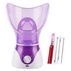 Beauty Nymph Spa Home Facial Steamer Sau...