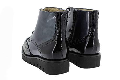 Cómodo Negro Piesanto Zapato Mujer 16 Char Botín i 9906 dwqCAqz8x