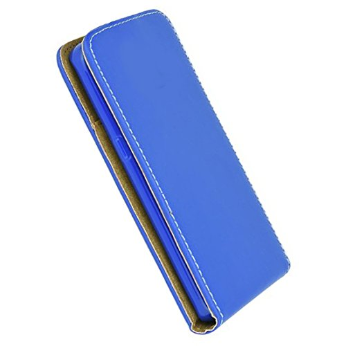Flip Hülle Apple Iphone 7 Plus Hülle in Flipstyle Handytasche für Apple Iphone 7 Plus Tasche blau
