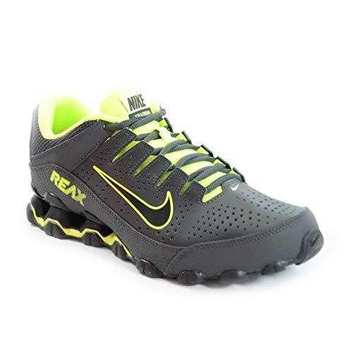 - Nike Mens Reax 8 TR, Anthracite/Black-Volt, 7 D(M) US