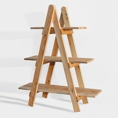 CajonesUnicos - Escalera decorativa de madera: Amazon.es: Hogar