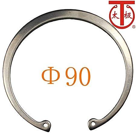 Inner Diameter: 90-1566 DIN472 Internal Retaining Ring RTW 90 Internal circlips RTW 10 Pieces//lot - Ochoos 65Mn