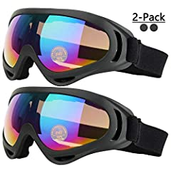 COOLOO Ski Goggles, the Best Partner for Skiing in Winter.Target People Boys & Girls over 10 years old/ Teens & Youth/ Adult Male & FemaleMain Features - Ventilate - Anti-Glare - light Weight - Non-Slip Design - Wind Resistance - ...