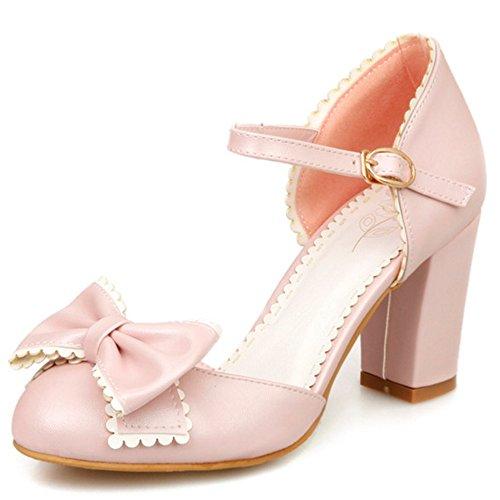COOLCEPT Damen Dress Shoes Sandalen Absatz