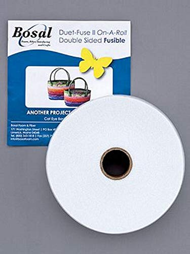 Bosal Duet-Fuse II Double Sided Fusible Batting 2 1/4