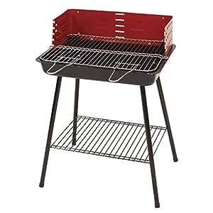 Amazon.com: WSJS Outdoor Carbon Oven Smoker Barbecue Folding ...