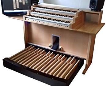 Mesa de juegos con órgano principal Praktika III.: Amazon.es ...