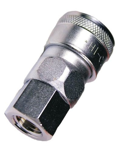 1//4 Size Female NPT Thread Nitto Kohki Hi Cupla 20SF-NPT Quick Connect Pneumatic Coupler Socket 218 PSI Steel