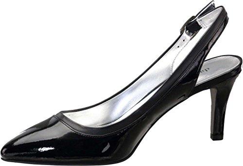 Black Tate Black Calfskin Slingback Toe Women's Soto Patent David Pointed vxpd70Cnn