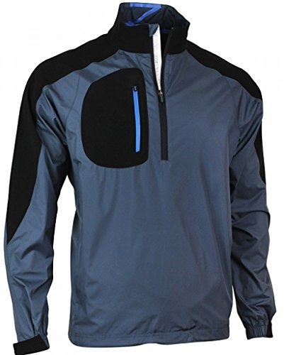 Zero Restriction Men's Bolt Wind Jacket, Steely/Black, Small