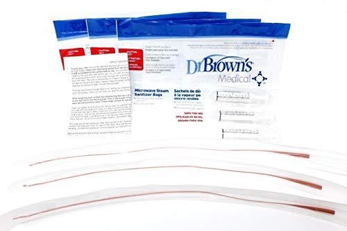 Feeding Tube Kit - Lifeline 3.5Fr Red Tube Feeding Kit - 3 Part