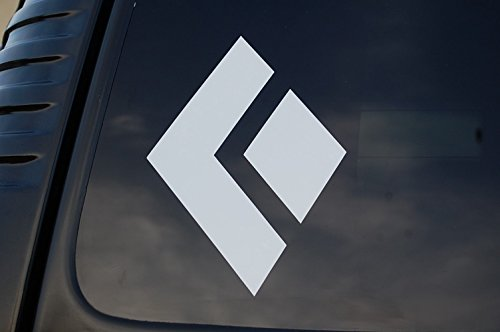 Climbing Sticker - Five STAR SUPPLY Black Diamond Rock Climbing Sticker Vinyl Decal Choose Your Color & Size!! Car Window Laptop Cell Phone (V349) (2.25